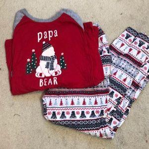 Men's Christmas pajamas